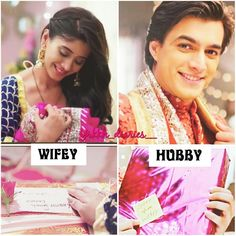Their smiles after soo long and this wifey n hubby soo sweet. N unki smiles n those gifts beautiful… Romantic Moments, Romantic Couples, Cute Couples Photos, Couple Photos, Kaira Yrkkh, Kartik And Naira, Pre Wedding Poses, Cute Attitude Quotes, Mohsin Khan