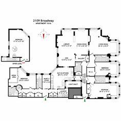 2109 Broadway #1616 in Upper West Side, Manhattan | StreetEasy  4500 sq ft, sold $7,495.000, 2009