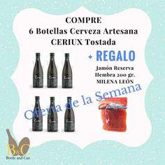 ¡¡ NUEVA OFERTA DE LA SEMANA !! La OFERTA comprende 6 Botellas de Cerveza…