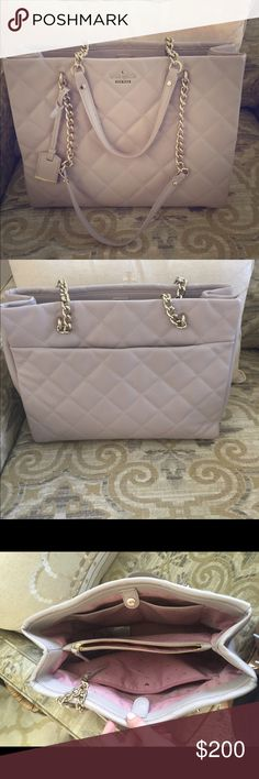 Kate Spade Purse Authentic gently used blush Kate Spade purse.  Used for less than a month. $175 OBO. kate spade Bags Totes