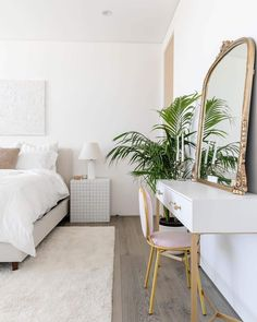 """When You Want """"Custom Furniture"""" But Don't Have The """"Custom Budget"""": How To Hack IKEA Products From Storage Cabinets To Custom Built-Ins - Emily Henderson Home Bedroom, Bedroom Decor, Bedroom Ideas, Loft, Storage Cabinets, Custom Furniture, Built Ins, New Room, Ikea Products"""