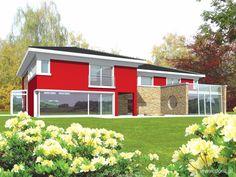 DOM.PL™ - Projekt domu AC Kaj CE - DOM AE4-72 - gotowy projekt domu