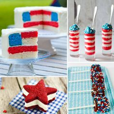 4th of july desserts blog