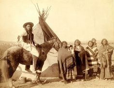 1891- Pine Ridge- Four Lakota Women