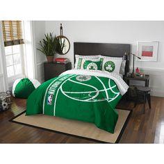 Northwest NBA 846 Celtics 7-piece Bed in a Bag with Sheet Set