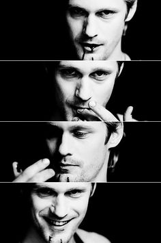 Eric Northman-- the only vampire I would let bite me. Well... Northman, and Spike.