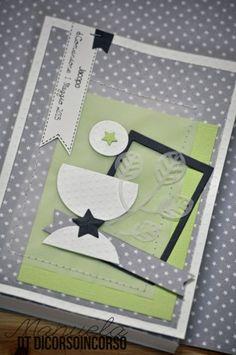 E per la Comunione di Jacopo…verde bianco e grigio