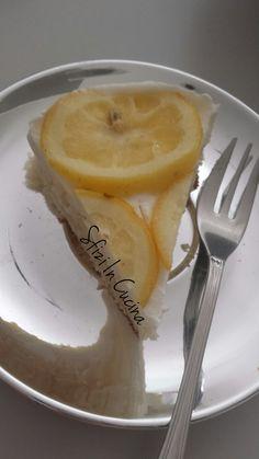 Sfizi in cucina | Torta fredda al limone senza gelatina.