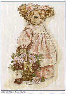 """Милые сердцу штучки: """"Винтажные мишки от Maureen Christie"""""""