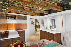 vigas a la vista piso duplex nórdico ladrillo visto estilo nórdico decoración rock musica decoración musical decoración interiores blog decoración