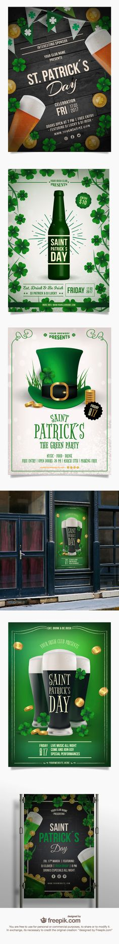FREE Ready-To-Print Posters For St. Patrick's Day