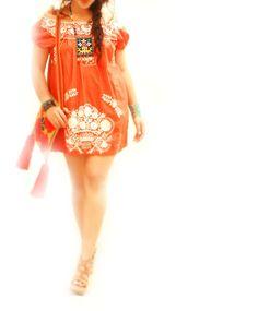 Tangerine dreams Mexican bohemian ethnic por AidaCoronado en Etsy