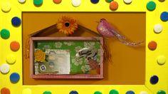 Mascha bewaart haar vakantie herinneringen niet in een fotoboek, maar in een kastje aan de muur ;-)