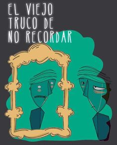 Ilustración Digital. Portada del libro ¨EL viejo truco de no recordar. Francisco Linares. 2015