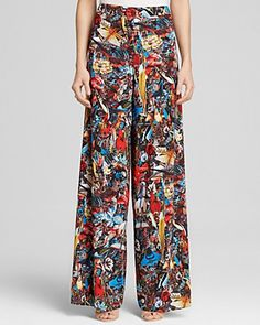 Alice and Olivia Alice + Olivia Pants - Exclusive Super Flared Wide Leg Women - Bloomingdale's Professional Outfits, Classic Outfits, Wide Leg Pants, Wide Legs, Alice Olivia, Capsule Wardrobe, Passion For Fashion, Pants For Women, How To Wear