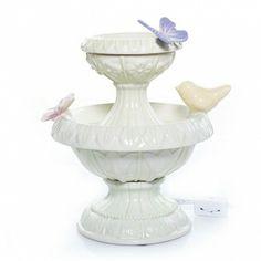 Enchanted Garden : Butterfly Birdbath Electric Wax Melts Warmer : Yankee Candle $32.99