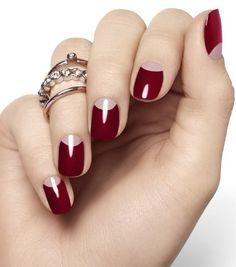 marsala color pantone fashion trend beauty nails #benchbagstheblog