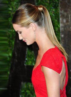 Rosie's ponytail