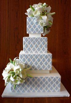 love the pattern #cake