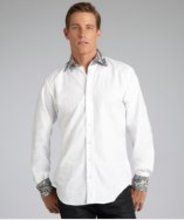 A new social shopping site centered around gift-giving. White Shirt Men, Classic White Shirt, White Shirts, Button Front Dress, Shopping Sites, Chef Jackets, Paisley, Shirt Dress, Cotton