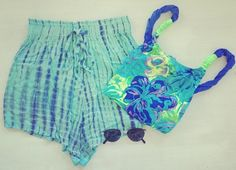BOSTLIMITED.COM LAMAR Pale Shorties and Banging Neon Bodysuit. #vintage #fashion #shorts #beach #denim #girl #summer #bodysuit #swimsuit #sunglasses