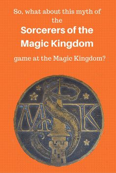 So, what about this myth of the Sorcerers of the Magic Kingdom game at the Magic Kingdom? www.allenrentalhomes.com joallen15