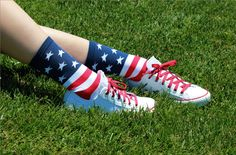 cute socks for 4th of July or any other day