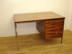 Rosewood desk with drawers. Decor, Furniture, Drawers, Desk With Drawers, Rose Wood Desk, Home Decor, Desk