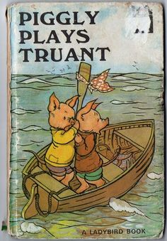 A vintage children's Ladybird book in verse of Piggly plays truant from the In good condition, slight discoloration to the cover. Classic Artwork, Ladybird Books, Vintage Children's Books, Vintage Lego, Vintage Kids, Animal Books, My Childhood Memories, Childhood Toys, Little Pigs