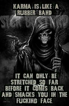 Is the grim reaper male or female? Grim Reaper Art, Grim Reaper Tattoo, Don't Fear The Reaper, Grim Reaper Quotes, Karma Quotes, True Quotes, Funny Quotes, Qoutes, Biker Quotes