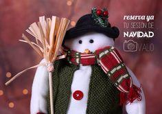 Vamos, vamos, que se acerca la época del blanco y el rojo!! Reserva ya tu plaza y posa con el muñeco de nieve friolero!!