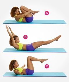 Tighten your core with this Pilates move--and 8 more awesome exercises that help flatten your stomach: http://www.womenshealthmag.com/fitness/pilates-abs?cm_mmc=Pinterest-_-womenshealth-_-content-fitness-_-9pilatesmovesforflatterabs