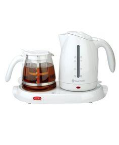 Ceramic Kettle Tea Electric Water Teapot 1,5L Orient Vintage Cordless Boil  Whit