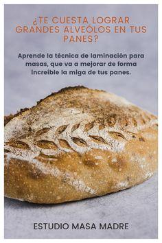 Mejora de forma increíble la miga de tus panes de masa madre con esta técnica.  #masamadre #pandemasamadre #panconmasamadre #panartesanal #linaza Bread, Shape, Sourdough Bread, Artisan Bread, Breads, Vegans, Studio, Recipes, Brot