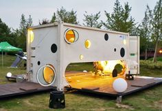 Shipping Container Architecture | travel container, Jike Idea, prefab architecture, shipping container ...