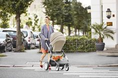 The large shopping basket leaves lots of room for groceries and other baby essentials – Stokke Crusi Stroller