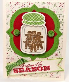Gingerbread in a Jar by scrapgranny - Cards and Paper Crafts at Splitcoaststampers