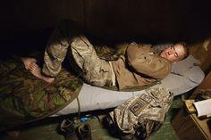 Photojournalist Tim Hetherington's Sleeping Soldier Portraits (Photos)