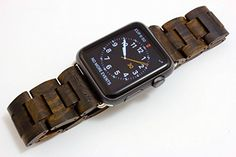 Price tracking for: Handcrafted Wooden Band for Apple Watch - Stainless Steel Butterfly Clasp with Adjustable Links - 4 Natural Hardwood Options Men and Women Strap and Bracelet Sizes - By Wood Mark 7503 - Price History Chart and Drop Alerts for Best Camping Lantern, Camping Lanterns, Apple Watch 42mm, Apple Watch Series 3, Apple Watch Stainless Steel, Outdoor Gadgets, Latest Gadgets, Wearable Technology, Fitness Watch