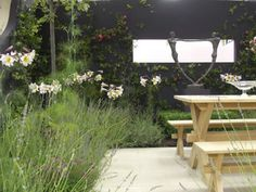 House & Garden Fair 2007 | Projects | Richard Miers - Garden Design Outdoor Furniture Sets, Outdoor Decor, Garden Design, Home And Garden, Plants, Projects, House, Home Decor, Log Projects
