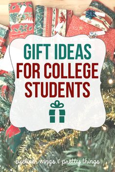 College Gift Guide: Unique Gift Ideas for College Students