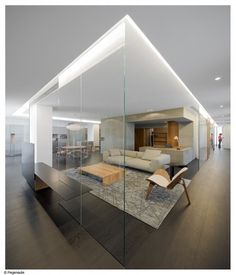 - enclosed but transparent n open  - high visibility    Wu Residence / Neri & Hu Design and Reserch Office
