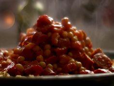 Chorizo and Chickpea Stew recipe from Nigella Lawson via Food Network