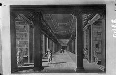 Interior, pre barrel vault Trinity Library, Vaulting, Barrel, Interior, Art, Art Background, Barrel Roll, Indoor, Kunst