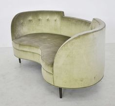 Dunbar Oasis Settee by Edward Wormley | From a unique collection of antique and modern settees at https://www.1stdibs.com/furniture/seating/settees/