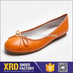 african cheap plain shoes /lady flat pumps shoes /women foldable flat shoes