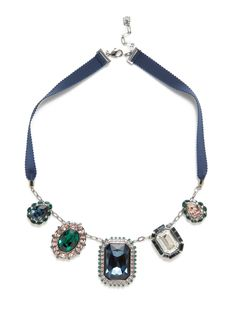Spectacle Necklace by Swarovski Jewelry at Gilt  (ruban)