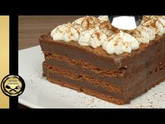 Η πιο εύκολη Σοκολατίνα! - ΧΡΥΣΕΣ ΣΥΝΤΑΓΕΣ - YouTube Cake Youtube, Easy Desserts, Sweet Recipes, Tiramisu, Dessert Chocolate, Cocoa, Vanilla, Cooking Recipes, Pudding