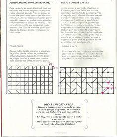 Instrucciones puntos capitone | Smocking | Pinterest