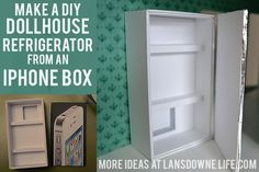 Lansdowne Life: DIY Dollhouse: Kitchen furniture (Part 3 of 6)